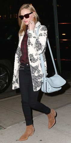 The Cool Brand Behind Kate Bosworth's Perfect Coat via @WhoWhatWear