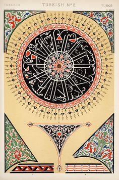 Decorative Arts: The grammar of ornament: [Turkish ornament. Plates 36, 37, 38]