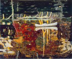 Peter Doig, Swamped on ArtStack #peter-doig #art