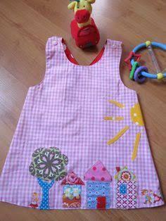 Resultado de imagem para vestidos com aplique infantil