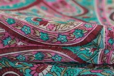 Echarpe indienne en soie