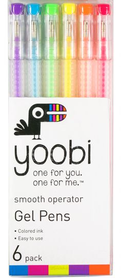 Mom Generations featured Yoobi gel pens