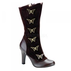 Butterfly SteamPunk  boots