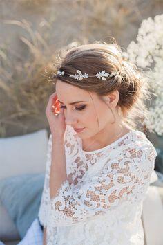 Shooting mariage sur la plage | Photographe : Marine Szczepaniak | Donne-moi ta main - Blog mariage