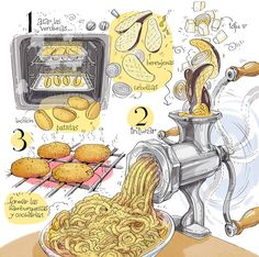 Hamburguesas de berenjena y patata