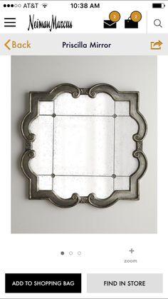 Neiman Marcus mirror