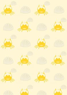 FREE printable summer beach pattern paper | #cancer #shells