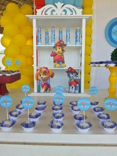 decoração festa infantil patrulha canina - Pesquisa Google