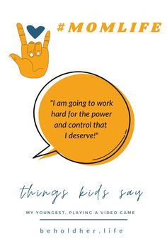 """Kids Say The Darnedest Things Don't They? """"I am going to work hard for the power and control that I deserve."""" Hard work pays off. Work hard to gain power and control over your own life, living and doing what feeds your soul, your passions and your heart. And, my daughter's energy and conviction is an inspiration to me. #ThingsKidsSay #FunnyKids #ChildhoodTestimonials #WorkHard #PlayHard #LoveHard #TBT #Throwback #Childhood #Motherhood #MothersAndDaughters #RaisingStrongWomen Hard Work Pays Off, Work Hard, Things Kids Say, Seven Years Old, I Deserve, Play Hard, Going To Work, Funny Kids, Strong Women"""