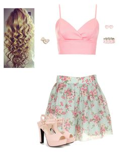 """""""Girly"""" by hanakdudley ❤ liked on Polyvore"""