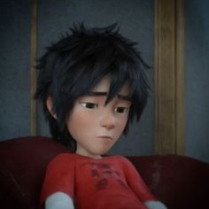 *depressed* He's thinking about Tadashi's death :( :'( Don't cry Hiro *hugs* I love you so much!