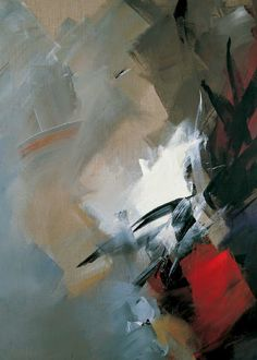 The works of French abstract painter Jean Miotte (b. 1926, Paris) are associated with the art style known as L'Art Informel, which is often considered France's equivalent to America's Abstract Expressionism.