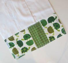 Urban Turtles BOYS Burp Cloth, Cotton Prefolds
