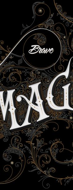 An Incredibly Detailed & Ravishing Sign Inspired By 19th Century Typography - DesignTAXI.com - http://designtaxi.com/news/364391/An-Incredibly-Detailed-Ravishing-Sign-Inspired-By-19th-Century-Typography/