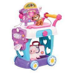 Just Play Doc McStuffins Hospital Care Cart Toy - Toys 4 My Kids
