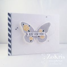 Stampin' Up! - Floral Wings - ZoKris