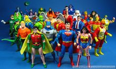 The Super Powers action figure line by Kenner