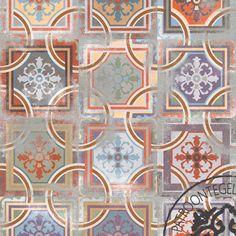 Keramische Patroontegel Comillas | www.patroontegelwinkel.nl