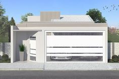 Projeto residencial com 3 quartos Mansion Bedroom, 2 Bedroom House Plans, Mansion Interior, Mansion Homes, Solar Powered Garden Lights, House Front Design, Modern Mansion, Mansions For Sale, Modern House Plans