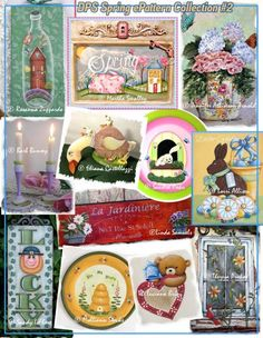 CLICK IMAGE TO BUY - Spring ePattern Collection 2- PDF DOWNLOAD
