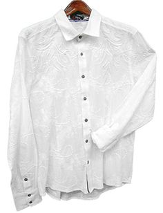 Toku Clothing Tonal Embroidery Shirt