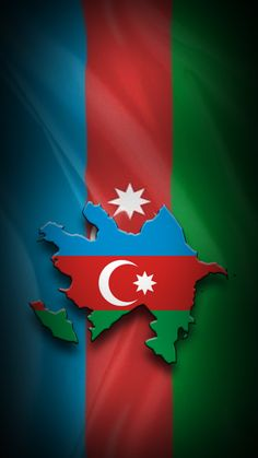 The blue color on the Azerbaijani flag - points to Turkic origin of Azerbaijani nation red color - means striving for modernity and democracy and green color - is the belonging to the Islamic civilization. Flag Country, Country Maps, Space Iphone Wallpaper, Galaxy Wallpaper, Red Color Meaning, Perfume Quotes, Turkey Flag, Azerbaijan Flag, Flag Art