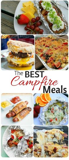Lovely  Simple and Easy Camping Meals! Breakfast, Lunch, Dinner...I can do this!...