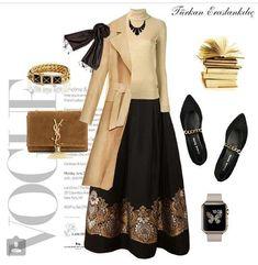 Source by melindiekruger outfits muslim Maxi Outfits, Modest Outfits, Classy Outfits, Cool Outfits, Party Fashion, Girl Fashion, Fashion Dresses, Womens Fashion, Street Hijab Fashion