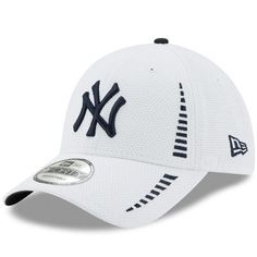 Men s New York Yankees New Era White Speed 9FORTY Adjustable Hat 4e851c2b0fd
