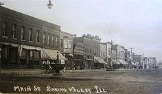 spring valley illinois | Spring Valley Street Scene