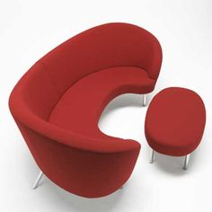 Orgy Sofa and Ottoman is designed by Karim Rashid  Read more: http://freshome.com/2007/11/14/orgy-sofa-and-ottoman/#ixzz4rffJ652i  Follow us: @freshome on Twitter | freshome on Facebook