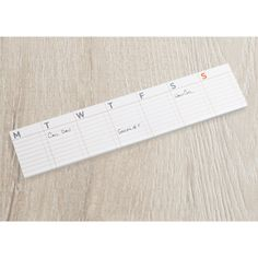 Weekly Calendar Sticky Notes | $9.99