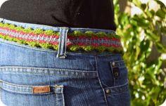 cinturon-de-ganchillo cinto bell ganchillo crochet  Gürtel   Häkeln