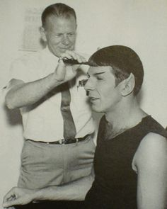 Intergalactic Grooming | Spock gets barbered.