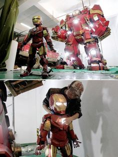 An art teacher in China took his Age of Ultron obsession to a new level.