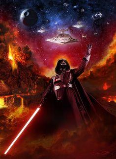 Darth Vader /by ?? #StarWars #art