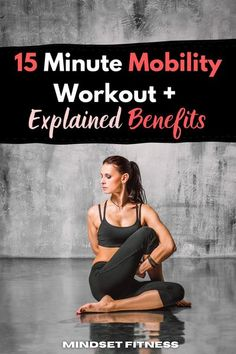 Are you feeling stiffness first thing in the morning? Mobility workouts are essential because it prepares our bodies for the stress of intense training we put ourselves through. Mobility is a main contributor to reducing the risk of injuries as well as improving technique and range of movement. Try this 15 minute mobility workout. #mobility #maneuvers #joints #spine #posture #healthier #flexibility Mens Fitness, Fitness Tips, Fitness Challenges, Fitness Fun, Yoga Videos, Workout Videos, Outdoor Workouts, At Home Workouts, Workout Plan For Men