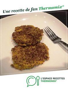 Galettes quinoa et légumes par ameguigne. Une recette de fan à retrouver dans la catégorie Accompagnements sur www.espace-recettes.fr, de Thermomix®.