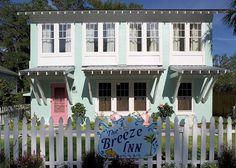 Tybee Island, GA United States - Breeze Inn circa 1942 | Mermaid Cottages, LLC