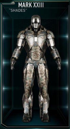 Iron Man Hall of Armors: MARK XXIII - Shades