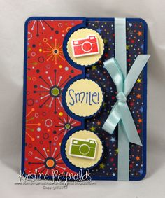 #TSOL #The Stamps of Life #Kristine Reynolds #Camera Card #Sizzix flip it card