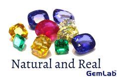 Natural and Real Gemstones