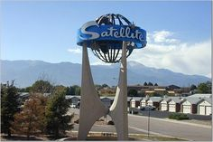 Gotta love it. Satellites were all the rage after 1959's Sputnik launch. This Denver motel really qualifies as 'Googie' architecture, and is almost more 1960s in feel.  Denver Post file photo.
