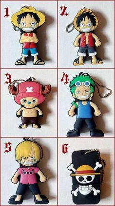USB Flash 8GB One Piece - Luffy Sanji Zoro Chopper Cappello di Paglia Altre Dim