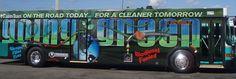 Going Green: Palm Tran Bus Wrap