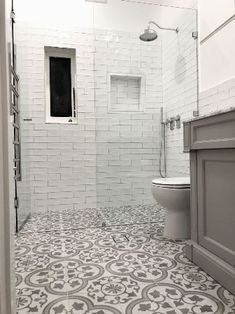 silver Bathroom Decor Classic design in these Spanish pattern floor tiles and ha… – Marble Bathroom Dreams Moroccan Tile Bathroom, Spanish Bathroom, Bathroom Floor Tiles, Tile Floor, Moroccan Tiles, Morrocan Floor Tiles, Marble Tile Bathroom, Basement Bathroom, Sydney