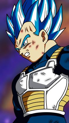 Why Vegeta is The Prince of All Saiyans - It all comes down to class and power level of a Saiyan when they are born. Vegeta was born a super Elite baby. Vegeta Ssj Blue, Goku Y Vegeta, Dragon Ball Z, Fan Art, Majin, Evil Goku, Z Warriors, Animes Online, Manga Dragon