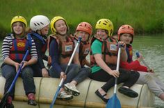 Raft building at Caythorpe- King's Ely Junior