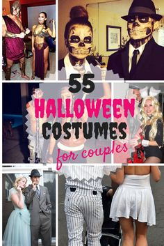 55 Halloween Costumes for Couples  http://stayglam.com/life/55-halloween-costume-ideas-for-couples/