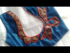 Easy patchwork blouse back neck design cutting and stitching /blouse designs Patch Work Blouse Designs, Simple Blouse Designs, Stylish Blouse Design, Churidar Neck Designs, Saree Blouse Neck Designs, Chudi Neck Designs, Dress Neck Designs, Designer Blouse Patterns, Skirt Patterns